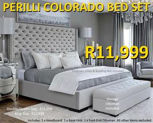 PERILLI COLORADO BED SET
