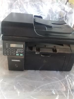HP laserjet M1212 all in one printer