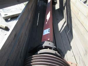 Vibrating Screen Pulley Drive Shafts for Sale in Mining and Construction Online Auction