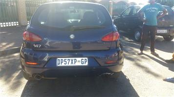 Alfa Romeo 147 Stripping for spares