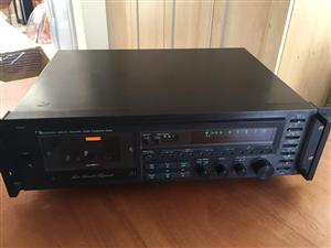 Nakamichi 680 Three Head Stereo Cassette Recorder  - 1 channel is faulty