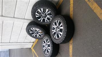 4 x 4 Bakkie Mags/Ford Ranger OEM