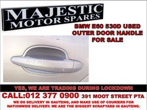 Bmw 530d used door handle for sale