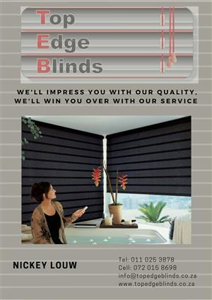 Blinds installations, supplies and repairs