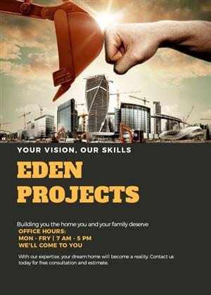 EDEN Projects, Home improvements.
