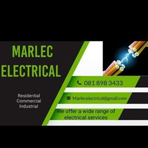 Marlec electricians. We Provide Electrical services