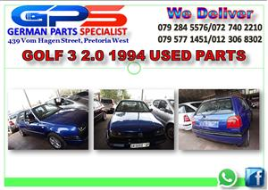 VW GOLF 3 2.0 USED PARTS FOR SALE