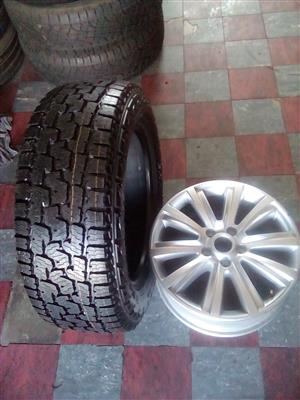 Amarok rim and tyre for a spare wheel
