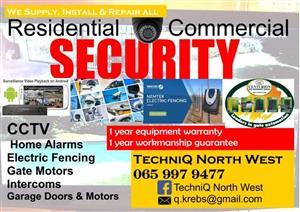 Security equipment installations