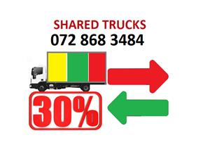 Shared truck from Durban to Johannesburg