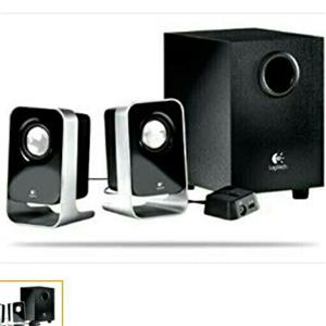 Logitech stereo speakers system for sale  Port Shepstone