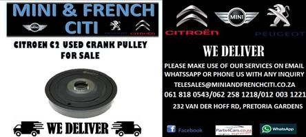 CITROEN C2 USED CRANK PULLEY FOR SALE