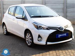 2015 Toyota Yaris hatch YARIS 1.5 Xs 5Dr