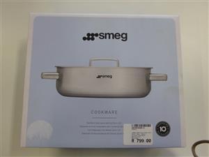 SMEG 24cm Stainless Steel Saute