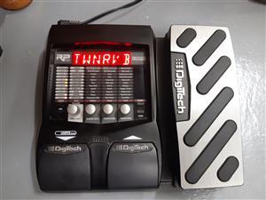 DigiTech RP255 multi effects guitar pedal