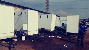 High Quality Mobile kitchens, freezers and vip toilets