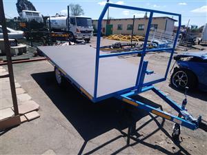 Flat Bed Furniture Trailer