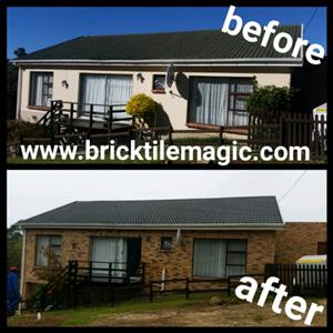 No More Paint! Bricktile Magic your home!
