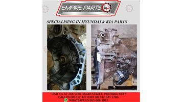 HY005 HYUNDAI ACCENT 1.6 2017 G4FA - GEARBOX