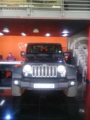 2018 Jeep Wrangler 3.6L Sahara