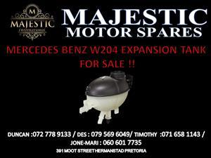mercedes benz w204 expansion tank