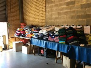 Bulk Clearance Clothing Sale