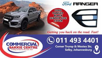 ford ranger side fender cover black 2012-
