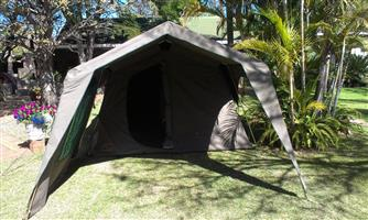 Brand new Campmor Canvas Tent with three side walls