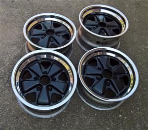 "15"" original Porsche Fuchs wheels 7J & 8J"