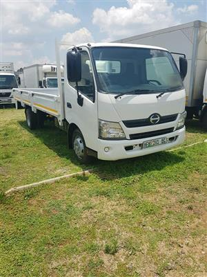 2014 Hino 300-915 long wheel base dropside truck for sale
