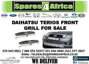 DAIHATSU TERIOS USED FRONT GRILLE FOR SALE