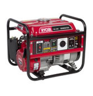 """Bargain: Ryobi 7.5kva generator pull start petrol only done 2 hours run time since new"