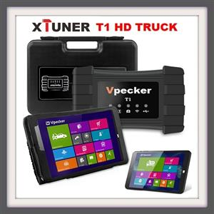 Truck diagnostic tool: Xtuner T1 HD truck scanner comes with Tablet and software installed
