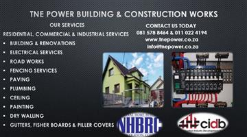 TNE POWER BUILDING AND CONSTRUCTION WORKS