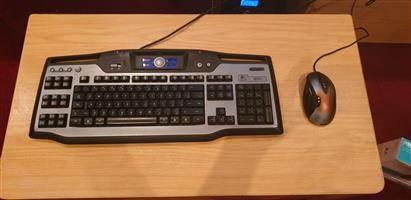 GAMING Mouse & Keyboard, Logitech