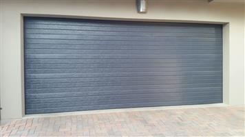 Double Sectional Steel Horizontal Garage Doors