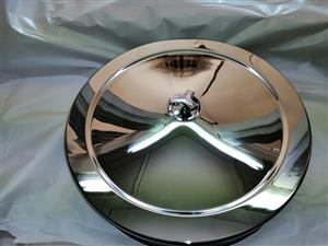 V8 FORD COURIER AIR FILTER CHROME