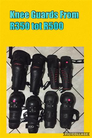 Black Thor knee guards for sale