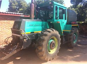 MB Trac 1300 Mercedes tractor / 2000l water tanker / fire fighter.
