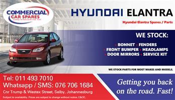 Hyundai Elantra 2007 Parts and spares for sale