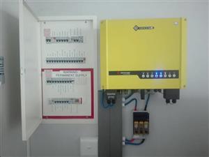 Solar, inverter and off-grid installations