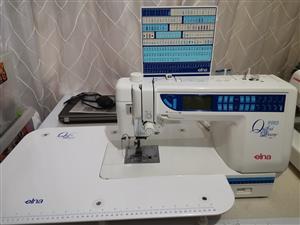 Elna pro quilters dream 7200 sewing machine
