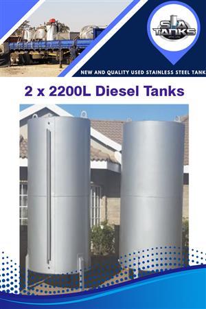 2200L Diesel Tanks