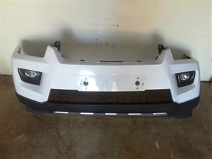 S6/S10 Scorpio Mahindra front bumper with fog lamps