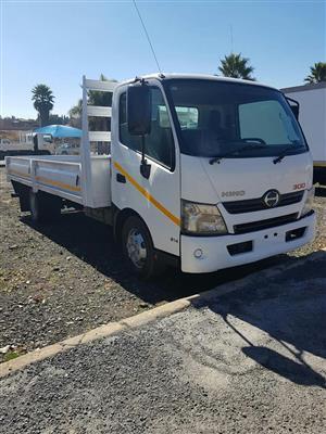 2013 Hino 300-814 (Auto) Dropside truck for sale