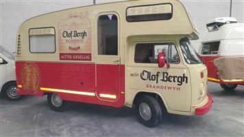 Mobile Vintage VW Kombi Bar for rent