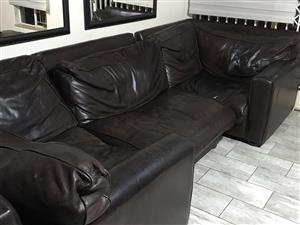 7 seater leather