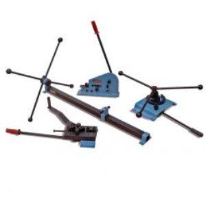 Steel bending set