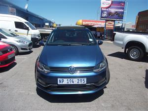2016 VW Polo hatch POLO 1.0 TSI COMFORTLINE