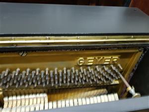 Geyer Upright Piano 1960's
